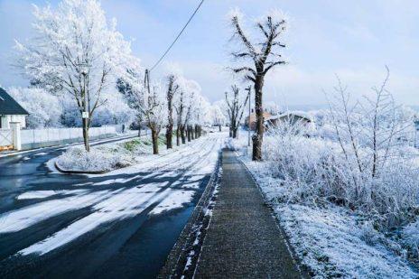 Lód spadający z ciężarówki – mandat