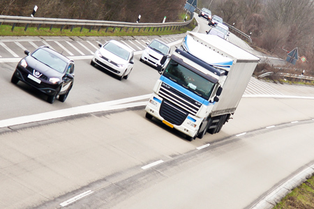 Polska niszczy transport ciężarowy