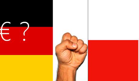 Protest polskich przewoźników pod ambasadami Niemiec i Francji