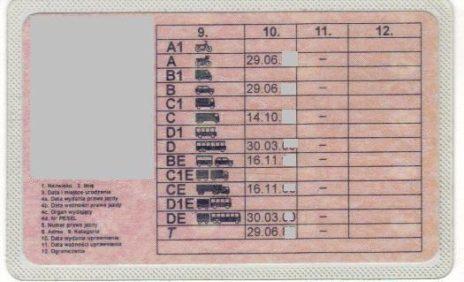 Kierowco wymieniłeś prawo jazdy kategorii D, D+E, C oraz C+E?