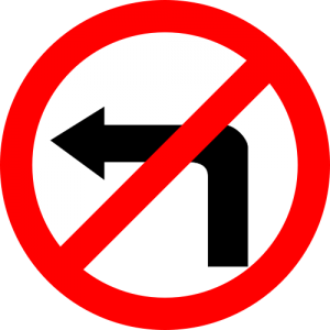 zakaz+w+lewo